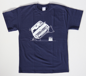 "69 PIT STOP T-shirt ""02 on two wheels"""