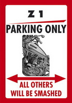 Z1 PARKING ONLY