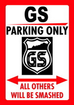 GS PARKING ONLY